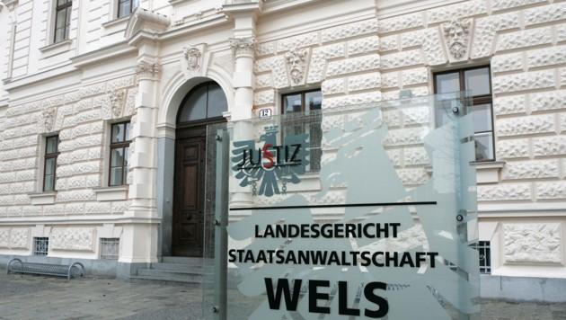 Am 1. August entscheiden die Geschworenen in Wels über die Einweisung in eine Anstalt. (Bild: Kronen Zeitung/Chris Koller)