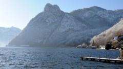 Die Wasserretter waren zu einer Übungsfahrt auf dem Traunsee unterwegs (Bild: Klemens Fellner)