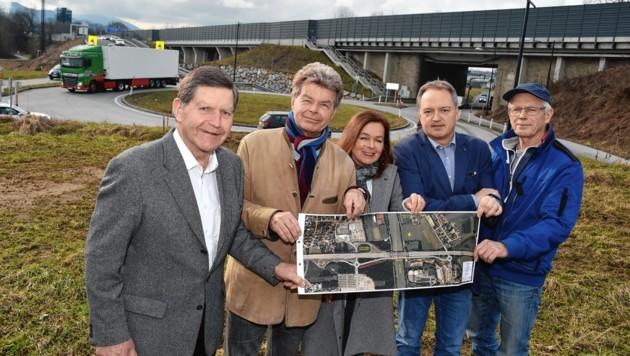 Sebastian Grießner, Walter und Rudolfine Kittl, Raimund Sigl und Alfred Eder.