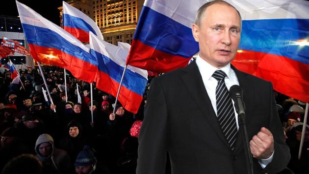 Russland-Wahl bringt klaren Sieg für Putin