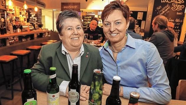 Johanna Panholzer und Anita Herzog