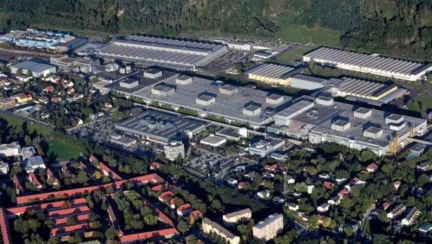 Das BMW-Werk in Steyr