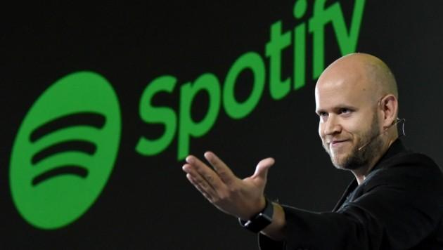 Spotify-Chef Daniel Ek (Bild: AFP)