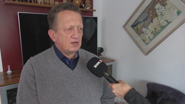 Robert Salfenauer im Interview mit krone.at (Bild: krone.tv)