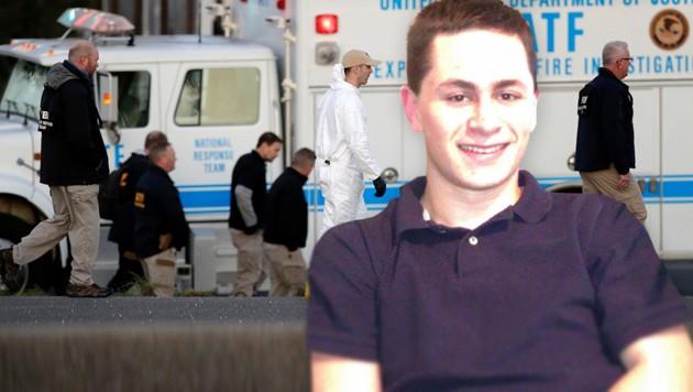 Mark Conditt soll für die dreiwöchige Paketbombenserie in Texas mit zwei Toten und fünf Verletzten verantwortlich sein.