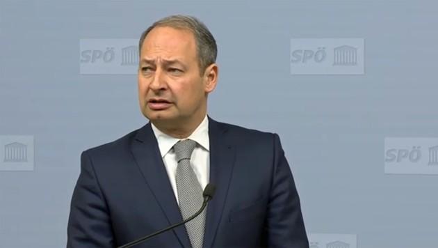 """SPÖ-Klubobmann Andreas Schieder kündigte an, """"alle Rechtsmittel"""" ausschöpfen zu wollen."""