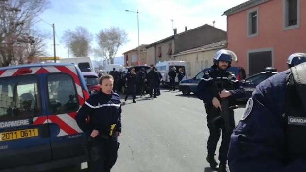 Terrorattacke in der französischen Ortschaft Trebes