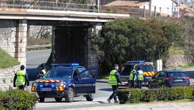 Anti-Terror-Einsatz in der französischen Ortschaft Trebes