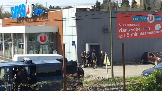 Terrorangriff in Trebes/Frankreich