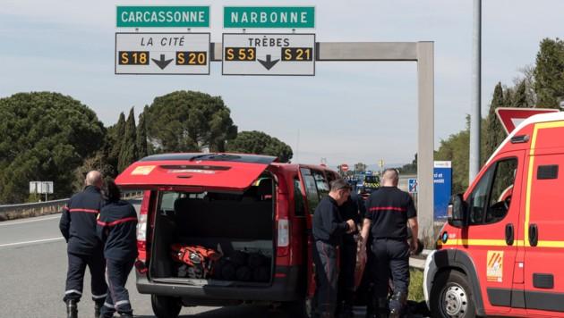Terrorangriff in Carcassonne/Frankreich