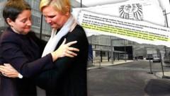 """Sonja Wehsely und ihre Nachfolgerin Sandra Frauenberger (re.) (Bild: Martin Jöchl, APA/HERBERT PFARRHOFER, """"Krone"""", krone.at-Grafik)"""