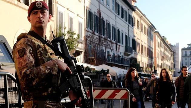 Stadt Rom verstärkt ihre Anti-Terror-Maßnahmen