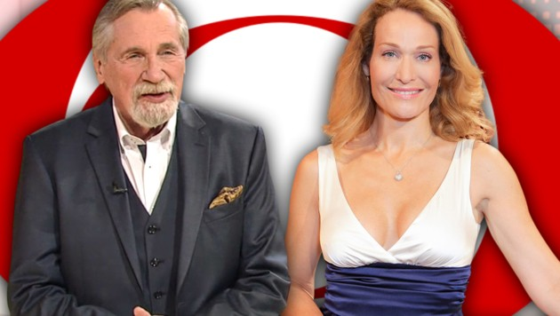 Die beliebten Moderatoren Peter Rapp und Marie Christine Giuliani müssen nun auf neue TV-Formate im ORF hoffen. (Bild: tvthek.orf.at, lotterien.at, krone.at-Grafik)