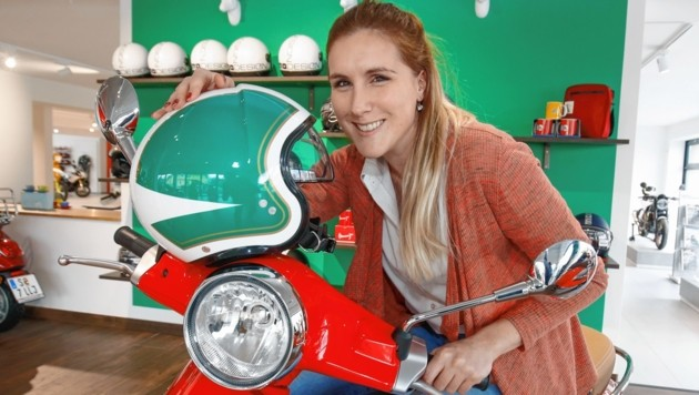 Verena Picker von KTM Hauthaler, Moosstraße