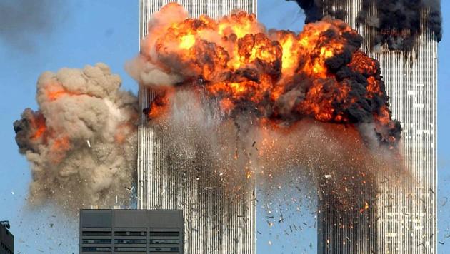 Die Attacke auf die Twin Towers in New York schockte die ganze Welt. (Bild: AFP)