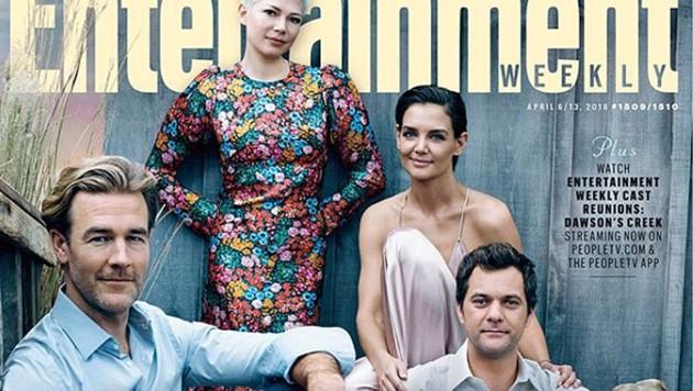"""Die """"Dawson's Creek""""-Stars trafen sich zum 20-jährigen Jubiläum zur Mini-Reunion fürs """"Entertainment Weekly""""-Magazin. (Bild: instagram.com/entertainmentweekly)"""