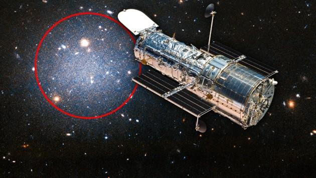 (Bild: NASA, krone.at-Grafik)