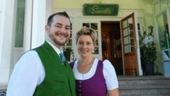 Alexander und Ines Gulewicz investieren viel in das Hotel Seevilla (Bild: Jürgen Radspieler)