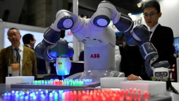 Der ABB-Konzern übernahm im Vorjahr B&R. (Bild: EPA)