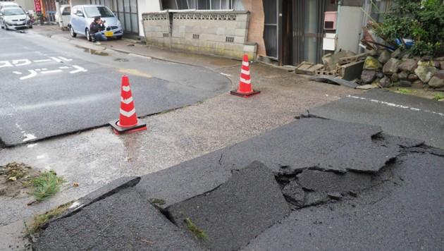 Verletzte bei Erdbeben im Westen von Japan