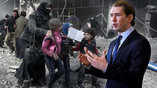 (Bild: AFP, APA/ROLAND SCHLAGER, krone.at-Grafik)