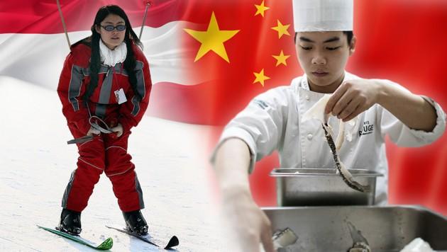 Neue Wirtschaftsbeziehungen zwischen Österreich und China: Der Wintertourismus aus China soll nach Österreich angekurbelt werden. Zusätzlich sollen Chinesen an der Hotelfachschule Baden ausgebildet werden.