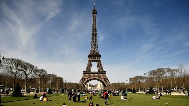 Der Eiffelturm in Paris (Bild: AFP)