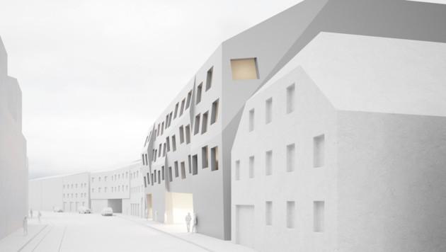 Im Mai 2020 soll das Design-Hotel in Ebelsberg eröffnen. (Bild: Architekturbüro 1 ZT GmbH)