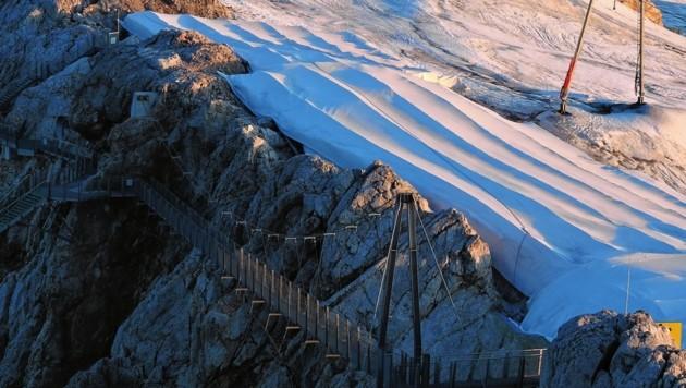 Enormer Langenverlust Auch Am Dachstein Gletscher Krone At
