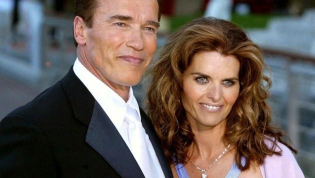 Arnold Schwarzenegger und Maria Shriver (Bild: dpa/Carsten Rehder)
