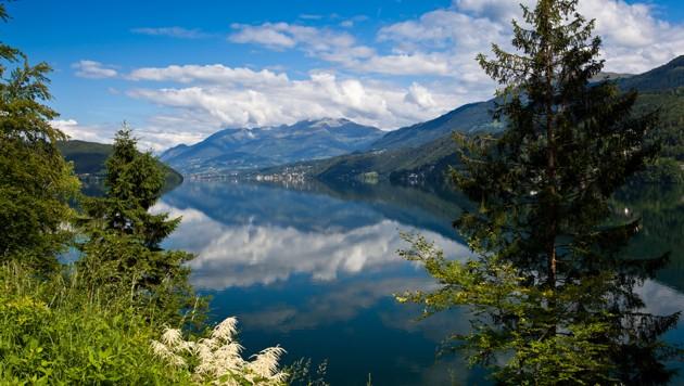 Blick auf den Millstätter See (Bild: stock.adobe.com, krone.at-Grafik)