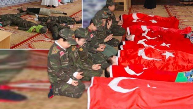 Bildergebnis für kinder erdogan moschee wien