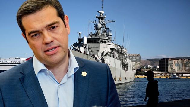 Spannungen mit Türkei: Tsipras rüstet Marine auf