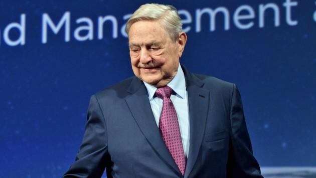 George Soros (Bild: APA/AFP/Getty Images)