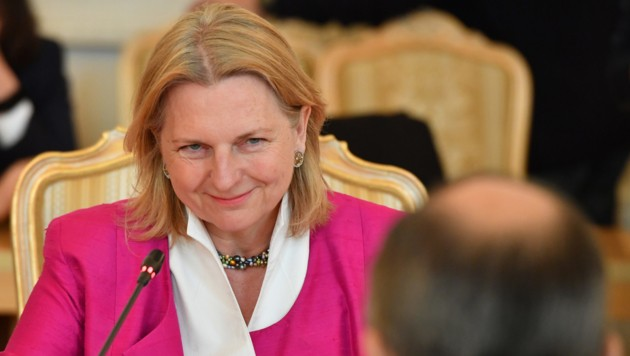 Karin Kneissl (Bild: AFP)
