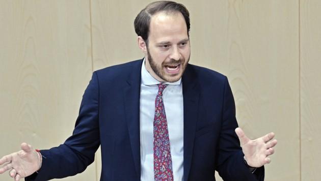 Abgeordneter Nikolaus Scherak (NEOS) (Bild: APA/HANS PUNZ)