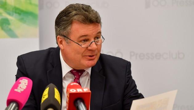 Infrastrukturlandesrat Günther Steinkellner (FPÖ) (Bild: Harald Dostal)