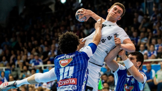 Wird Nikola Bilyk mit dem THW Kiel im Februar 2021 auch noch Handball-Pokalsieger 2020? (Bild: AP)