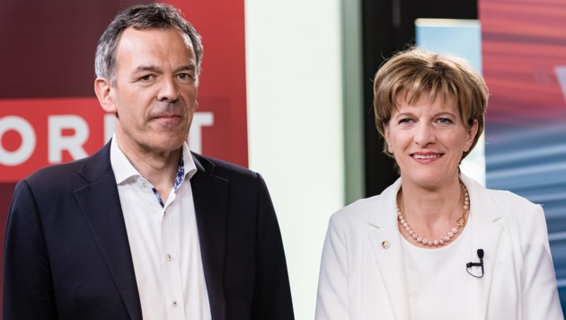 Georg Willi fordert Christine Oppitz-Plörer in der Stichwahl heraus. (Bild: APA/EXPA/STEFAN ADELSBERGER)