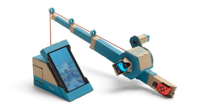 Der Labo-Angelsimulator enthält realistisches Meeresgetier von der Makrele bis zum Mondfisch. (Bild: Nintendo)