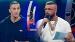 Die deutschen Rapper Farid Bang (li.) und Kollegah (Bild: APA/AFP/AXEL SCHMIDT, dpa/Rainer Jensen, krone.at-Grafik)