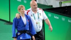 Sabrina Filzmoser und Trainer Marko Spittka (Bild: GEPA )