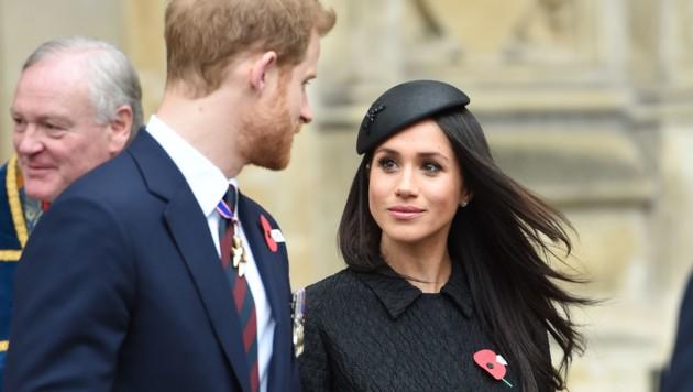 Prinz Harry und Meghan Markle (Bild: www.PPS.at)