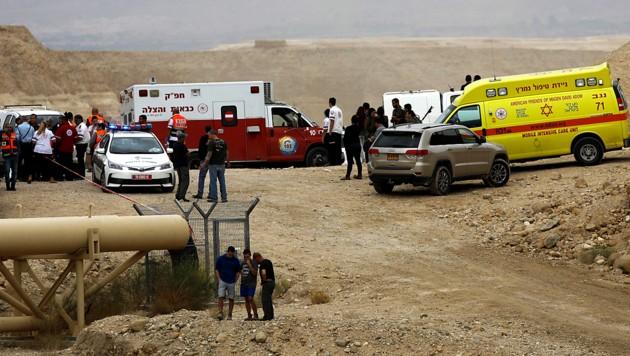 Flutwelle in Wüstental tötet mehrere Teenager