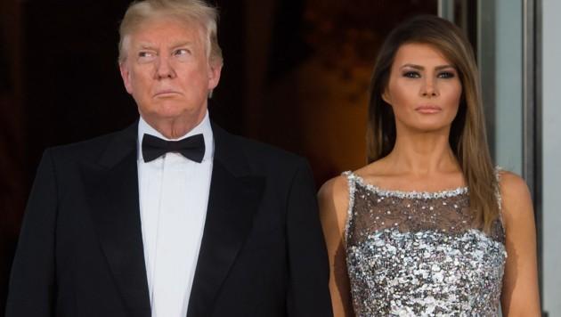 US-Präsident Donald Trump mit Ehefrau Melania (Bild: AFP)