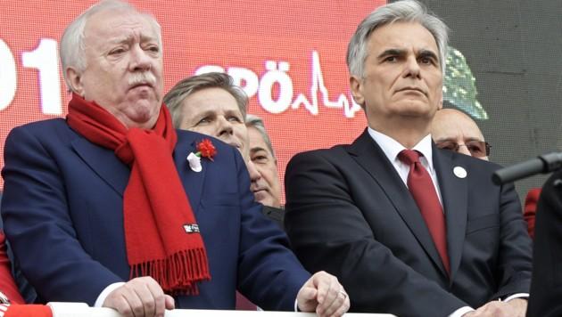 Die SPÖ hat freilich nicht nur positive Erfahrungen mit dem 1. Mai: 2016 wurde Bundeskanzler Werner Faymann ausgepfiffen. Kurz darauf trat er zurück.
