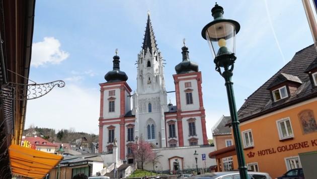 Mit Gottes Hilfe schafft es die imposante Basilika Mariazell immer ganz vorne ins Ranking (Bild: Kronenzeitung)