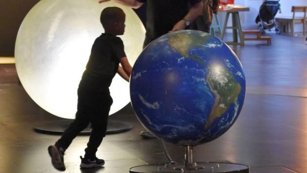 Für Kinder scheint das Londoner Science Museum ein riesiger Abenteuerspielplatz zu sein (Bild: liveBild)