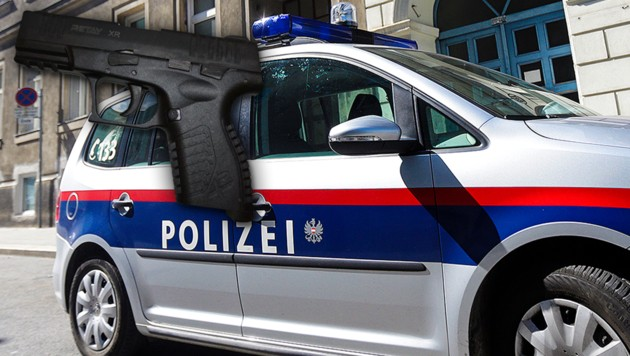 Symbolfoto (Bild: APA, Polizei, krone.at-Grafik)