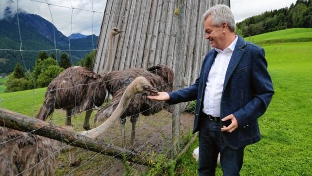 SP-Landesrat Anton Lang setzt im Tierschutz bemerkenswerte Akzente (Bild: Land Steiermark)
